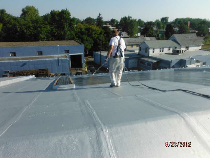Aluminum Commercial Roof Coating | Buffalo, NY & Western New York