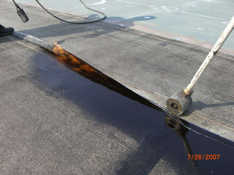 Modified Bitumen Torch Down Roofing | Commercial Roofing Installation & Replacement