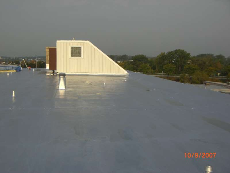 Urethane Roof Coating For Commercial Flat Roof