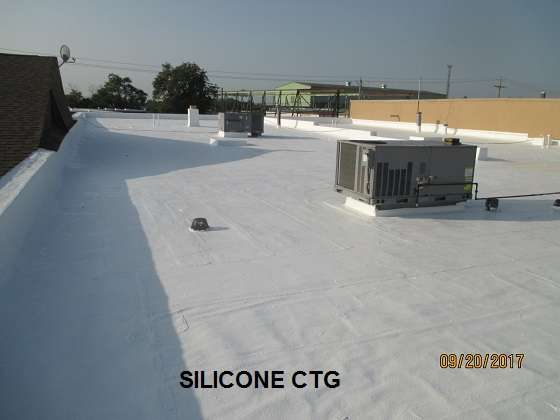 Silicone CTG | Commercial Roof Coating