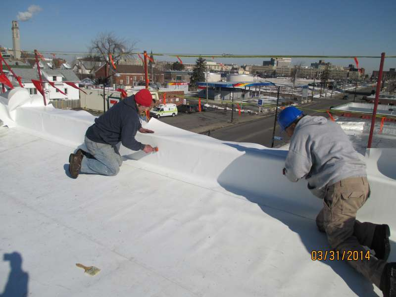 TPO Roofing Commercial Flat Roof
