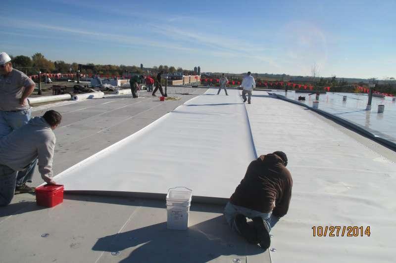 ... TPO Roofing ...