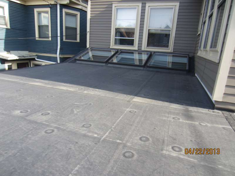 RESIDENTIAL EPDM AND SKYLIGHTS