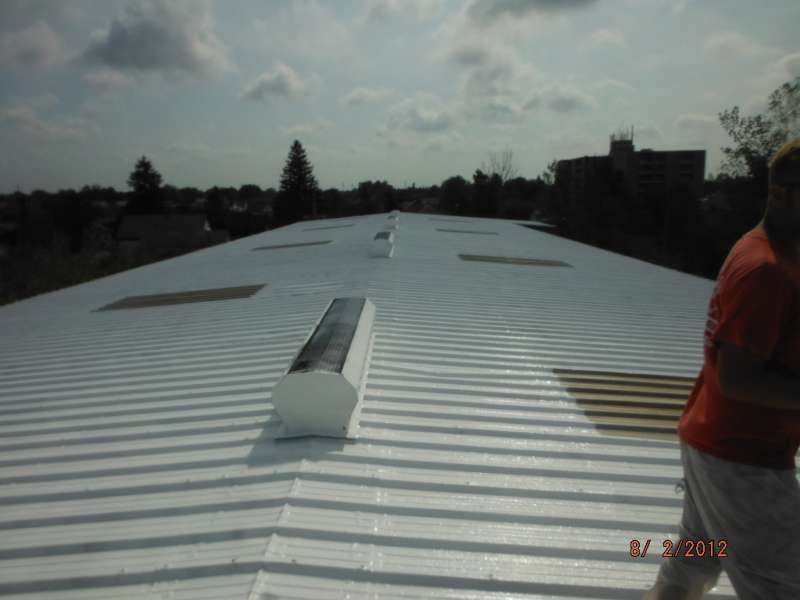 astec metal roof coating