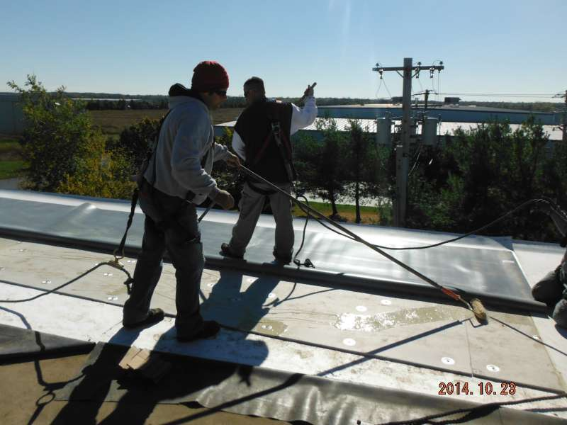 Firestone TPO Commercial Roofing