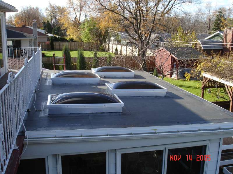 residential skylight domes
