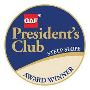 Roofing President's Club Award