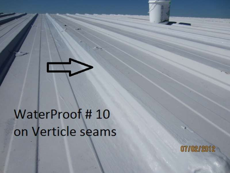 Polymer Commercial Roof Coating