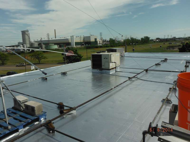 Commercial Urethane Roof Coating