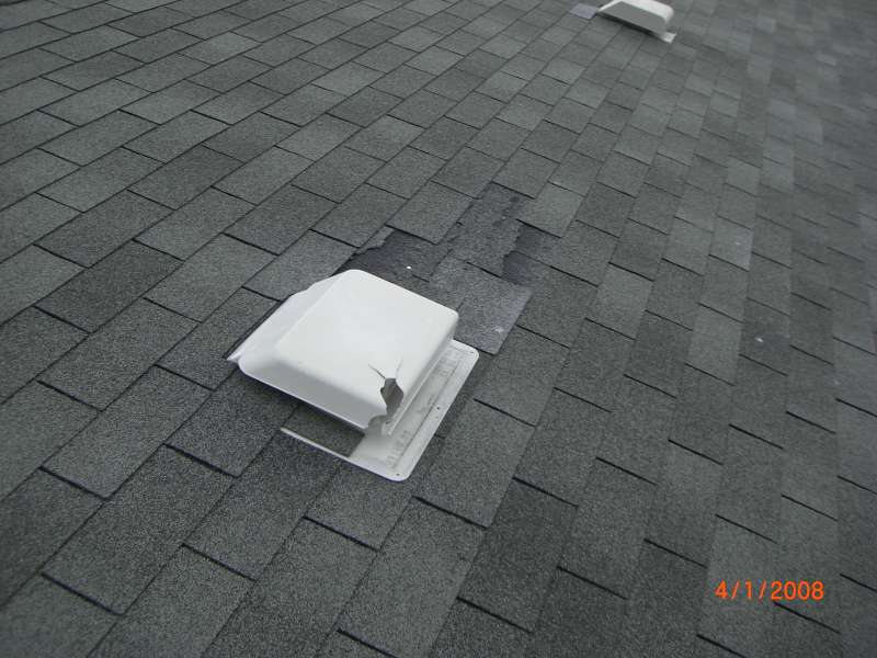 ... Leaking Roof Vent ...